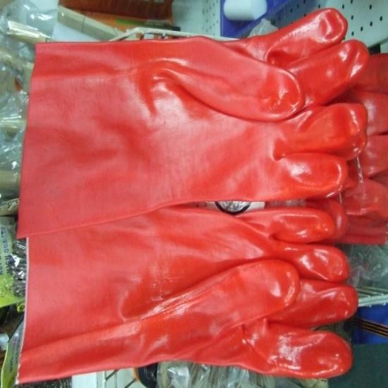 Picture of כפפות סולר אדומות ארוכות