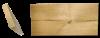 דק תרמי מעץ אורן